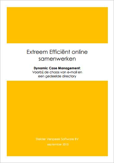 voorpagina extreem efficient samenwerken